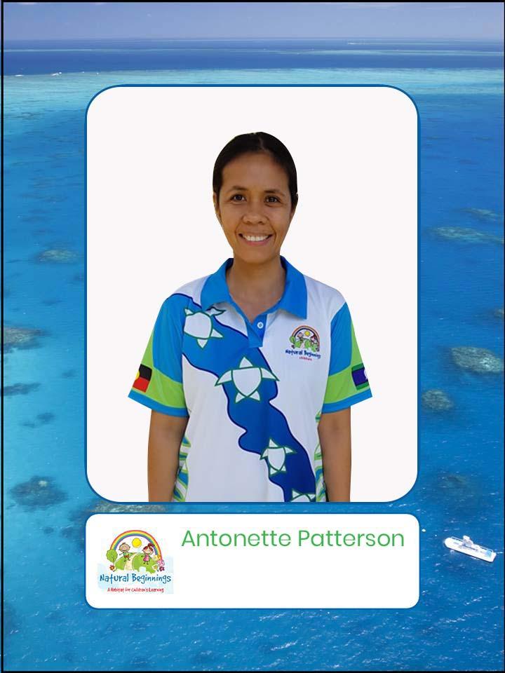 Antonette Patterson | Childcare Centre Cairns | Kindergarten